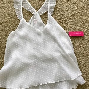 White Dotted Tank